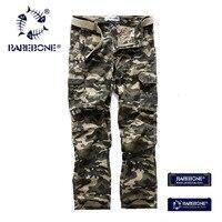 Rarebone Mens Cotton Outdoor Desert Camouflage Pants Cargo Military Pants Woodland Camouflage Pants Cargo Military Pants