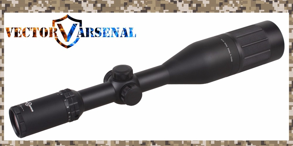 Vector Optics Grizzly 3 12x56 E Shooting Rifle Scope Riflescopes Red Dot Illumination System for .22.308 Rifle Airgun Hunting