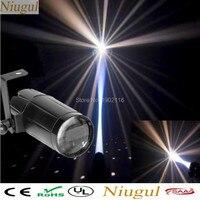 NEW 2017 Total 5W LED White Beam Pinspot Light Spotlight Super Bright Lamp Mirror Balls DJ