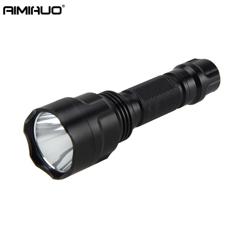 AIMIHUO C8T6 LED Flashlight Strong light flashlight charge home outdoor shooting fishing night ride Lanterna Waterproof Torch