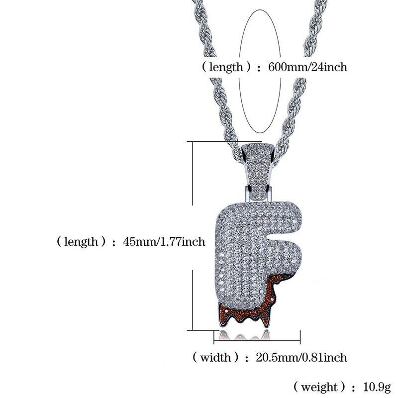 bubble letter necklace44