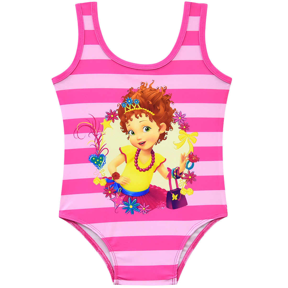 f34bf8cc56 ... New Summer robe fille beautiful fancy nancy Girls Beach Style dress  vaiana Bikini one piece Swimwear ...