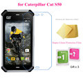 5 pcs Super Clear Filme Protetor de Tela para Caterpillar CAT S50 Premium Transparent Screen Guard Capa Protetora Frete Grátis