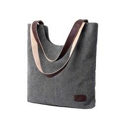 Women's handbags shoulder handbag high quality canvas shoulder bag for lady handbags famous brands big bag torebki damskie S57