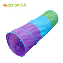Actionclub Kids Crawl Foldable Tunnel Baby Boys Girls Play Tent Outdoor Football Games Tent Children Indoor Toy Tent 46CM 150CM