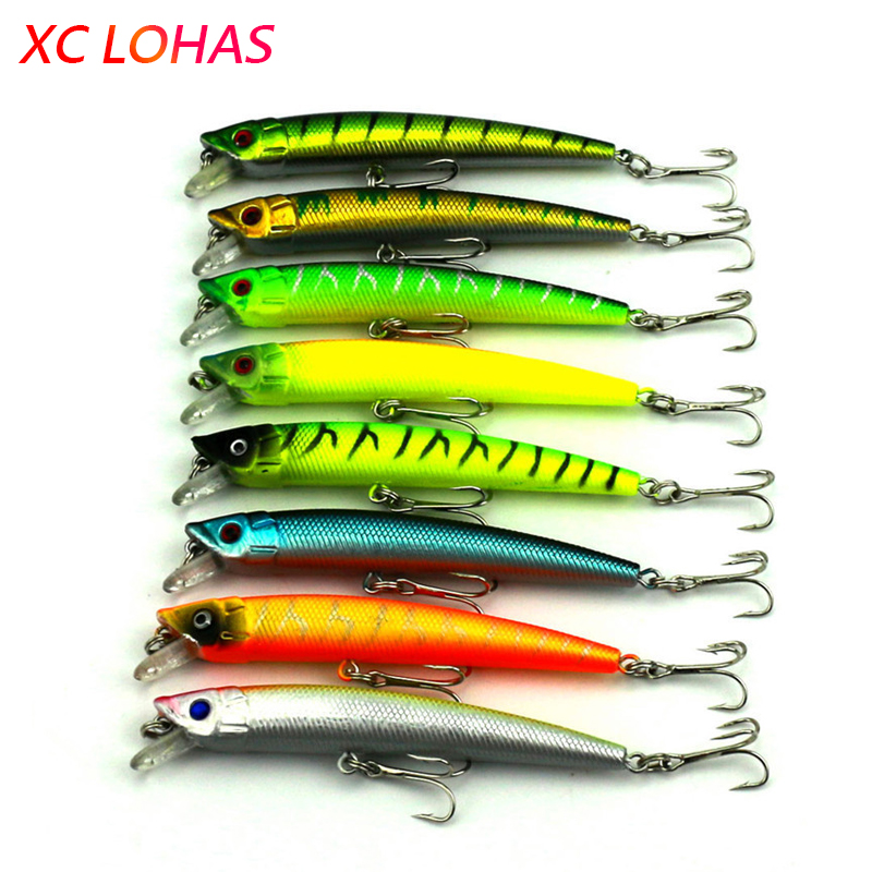 9.5cm 7.3g Hard Plastic Artificial Baits China Fishing Lures Laser Pencil Lure Minnow Swimbait Crank Bait Low Price MI019 wldslure 1pc 54g minnow sea fishing crankbait bass hard bait tuna lures wobbler trolling lure treble hook