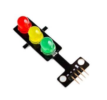 10PCS/LOT LED traffic lights light-emitting module / digital signal output Traffic light module / electronic building blocks