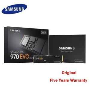 Оригинальный жесткий диск Samsung, 250 ГБ 500 ГБ SSD 970 EVO SSD M2 250 ГБ 500 Гб M.2 NVME Disque Dur для ноутбука 240 ГБ 2280 PCIe