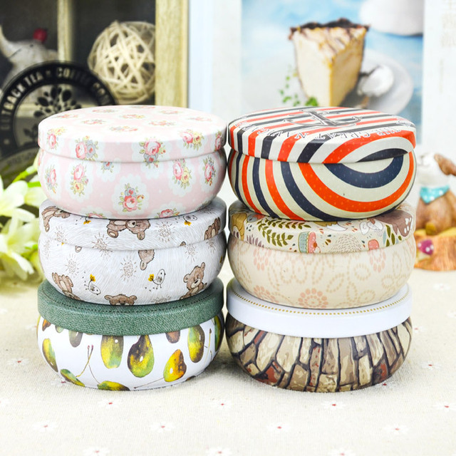 20pcslot wholesale metal tin bin tea gift box tinplate container tinplate home decor - Home Decor Wholesale