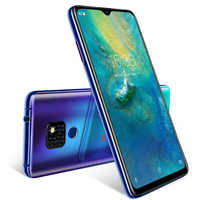 "XGODY Dual 4G Sim Mobile Phone Android 9.0 6.26"" 19:9 Smartphone 2GB 16GB MTK6737 Quad Core 13MP Fingerprint Mate 20 Cellphone"