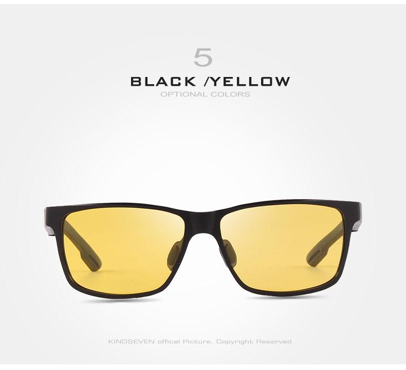 2017 New KINGSEVEN Polarized Sunglasses Men Brand Designer Male Vintage Sun Glasses Eyewear gafas oculos de sol masculino N7180 13