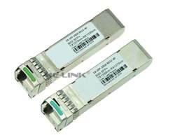 LODFIBER EX SFP 10GE BX23 40/EX SFP 10GE BX32 40 Jun od er netto działa kompatybilny para BiDi SFP 10G 40 km Transceiver w Urządzenia światłowodowe od Telefony komórkowe i telekomunikacja na