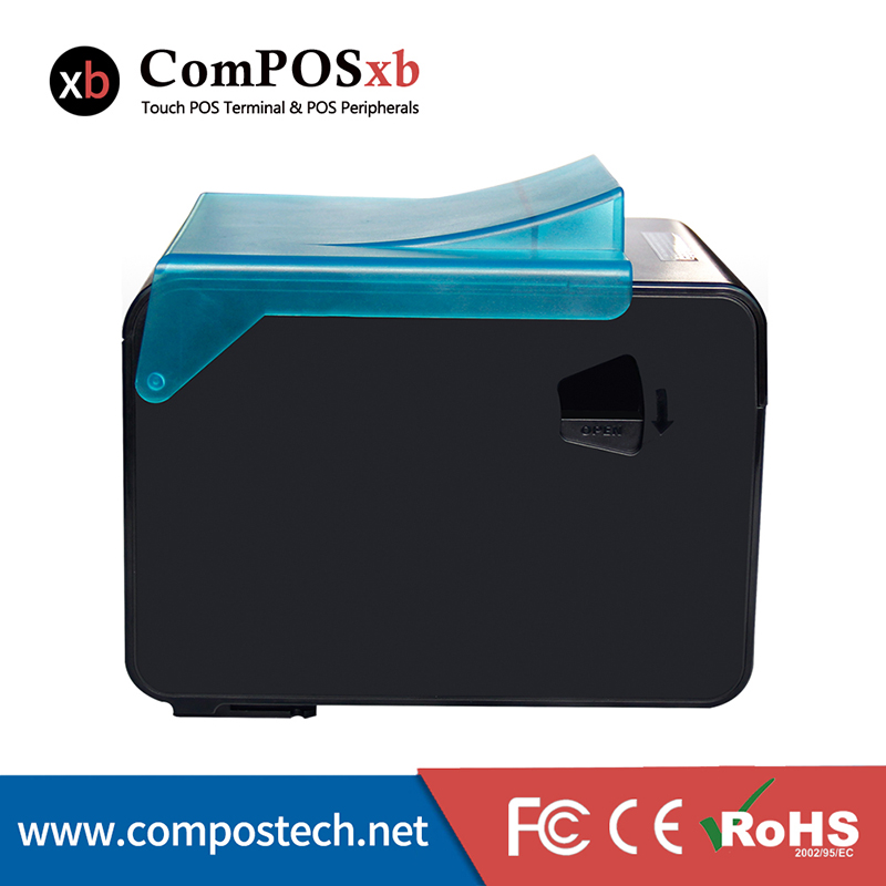Factory Direct Sales POS Printer 80mm Thermal Receipt Printer 1D & 2D EH80300 With USB+LAN+RS232
