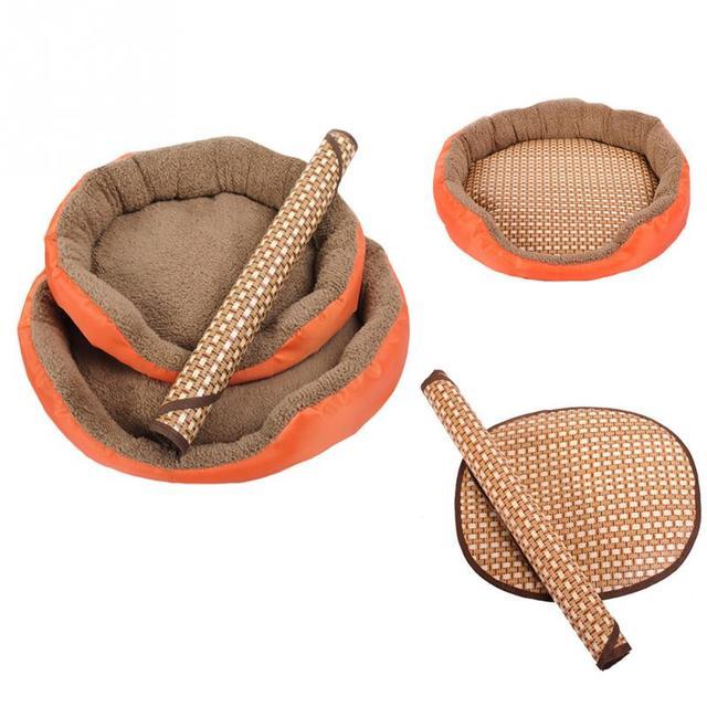 Forma ovalada cómodo perro mascota verano dormir colchoneta de refrigeración cama cachorro gato perrito cojín de enfriamiento