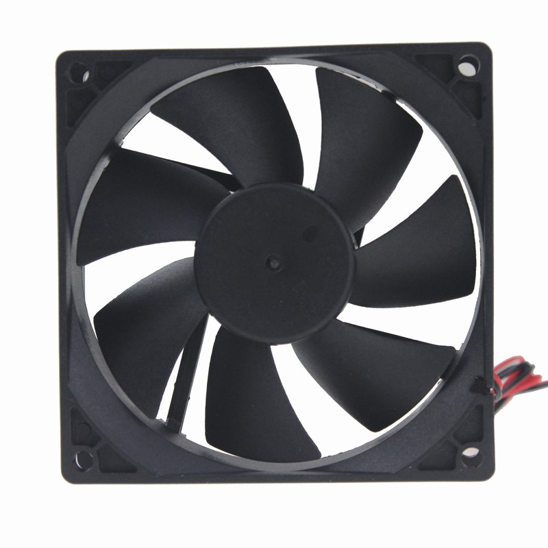 Gdstime 1 Piece DC 92MM X 92MM X 25MM 90MM 5V 2P PC Computer Case Cooling Cooler Fan gdstime 1 piece dc 12v 2 pin 140x140mm 14025 cpu computer case cooling fan 140mm x 25mm 14cm pc cooler 5 5 inch