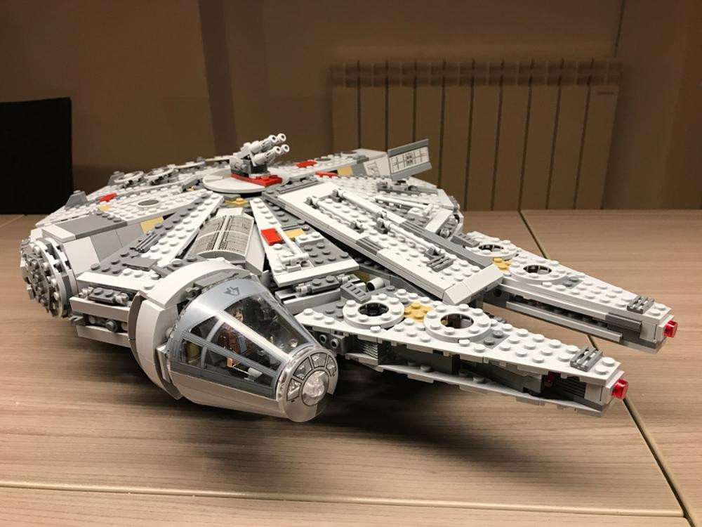 lepin millennium falcon 05007 lepin star wars compatible legoing Star Wars legoing millennium falcon 10467 Building Blocks ynynoo lepin 05007 star assembling building blocks marvel toy compatible with 10467 educational boys gifts wars
