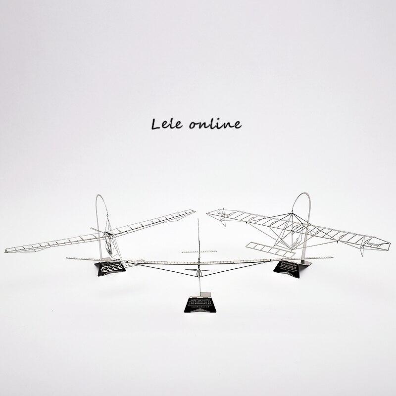 1/144 échelle le MOJAVE 76, CONDOR 77, dédale 88 main d'oeuvre planeur 3D métal assemblage modèle bricolage Puzzle cadeaux créatifs