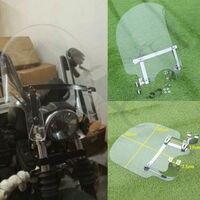 39mm Fork Clamps Windscreen Windshield For Harley Dyna Super Glide Sportster XL 883 1200 XLH Low Rider Fat Bob Street Bob FXDB