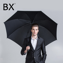 Bachon golf windproof large umbrella male rain auto-open long handle female