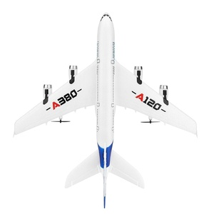 Image 5 - Fest flügel A380 Airbus Flugzeug Fernbedienung Flugzeug Modell 3CH EPP Fliegen Flugzeug RTF