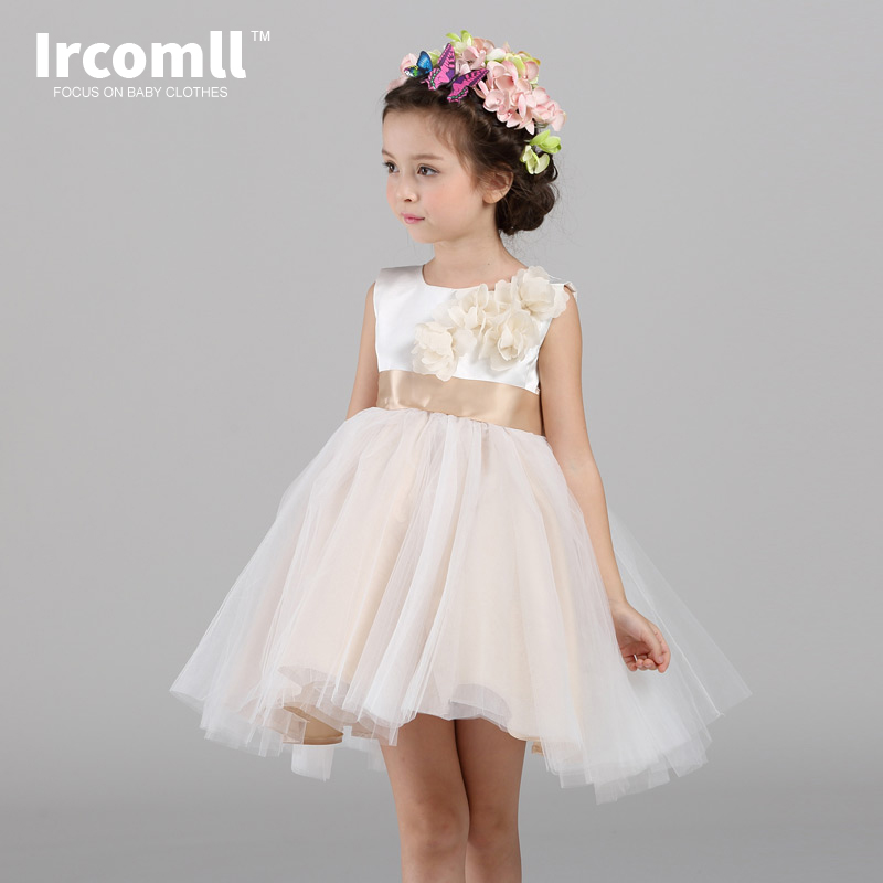 High Quality Children Floral Dress Wedding Dress Korean ...