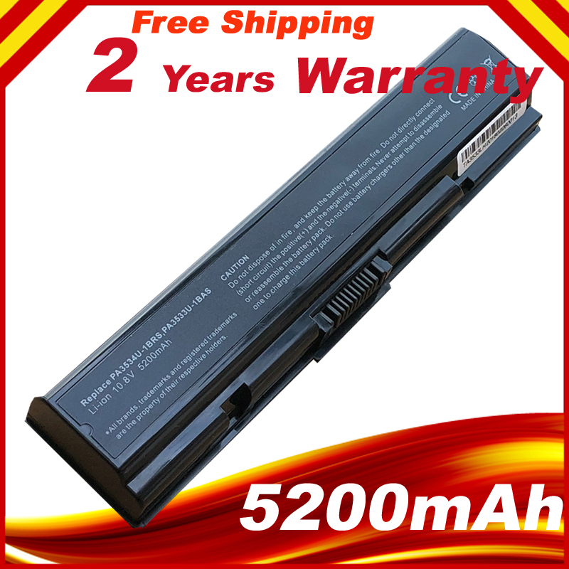 ᐅ5200mAh NEW Laptop Battery for Toshiba Satellite L300 L305 L500 ...