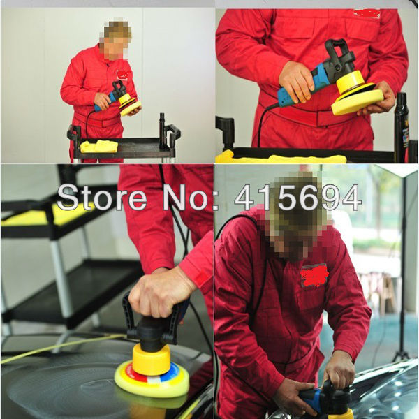Hot Sale! Car & home floor waxing machine auto polishing machine sealing glaze machine car & motorcycle polishing machine. auto polishing machine putty 6 inch pneumatic sander grinder sealing glaze car waxing machine sanding machine