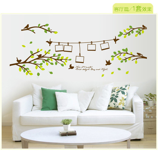 Removable Vinyl 3D Tree Wall Stickers On The Wall Home Decor Tree ...