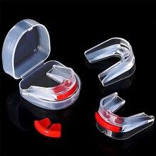 Высококачественный силиконовый защитный мундштук для защиты рта, для занятий спортом, бокса, для защиты зубов, для бокса, баскетбола, высшего класса
