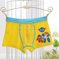 5 pieces/box boys panties modal boxer briefs boy robocar poli cartoon multicolor baby boys underwear, 2-8 years old