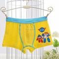 5 pieces/box boys panties modal boxer briefs boy robocar poli cartoon multicolor baby boys underwear, 2-8 years old