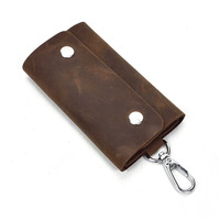 Key Holder Leather Key Wallet Designer Key Bag Case Large key Organizer Small Coin Purse Bolsa