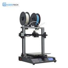 Geeetech A20M микс-цвет DIY 3d принтер быстромонтируемый накаливания Fetector Break-возобновление возможности 255*255*255 объем печати