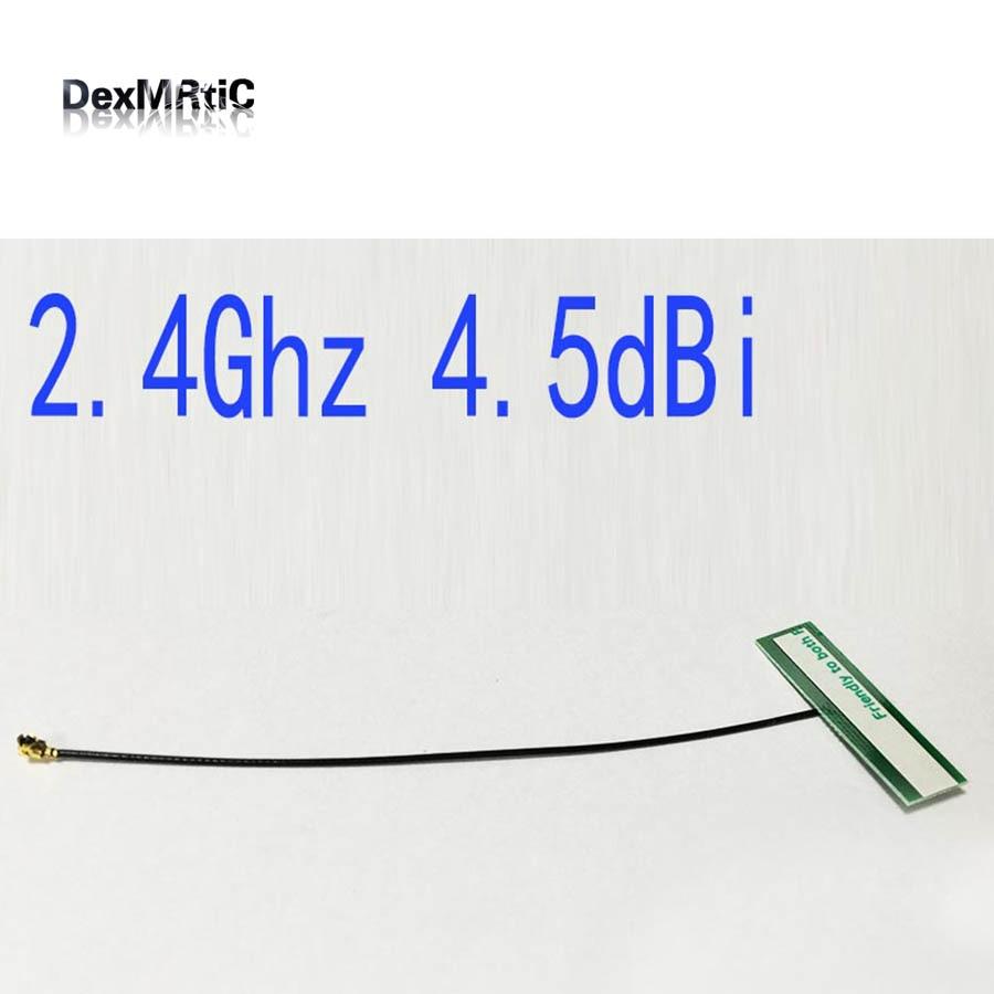 2.4 ГГц 4.5dbi Внутренняя антенна IPEX Omni Wi-Fi антенна для IEEE802.11b/g/n WLAN Системы <font><b>Bluetooth</b></font> #2 антенна wifi маршрутизатор