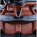 free shipping waterproof fiber leather car floor mat for geely GC 6 GC6 2006-2017 2016 2015 2014 2013 2012 2011 2010