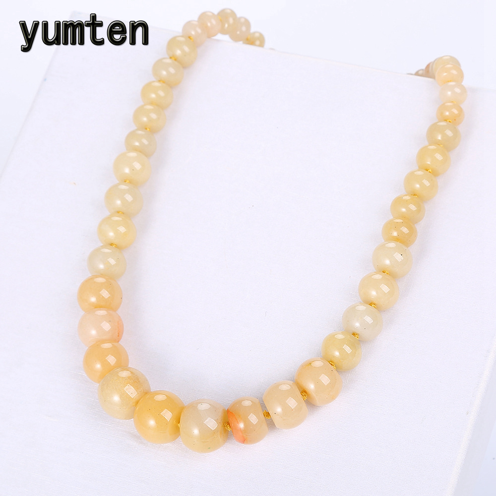 Yumten Natural Topaz Stone Statement Coin Rainbow Necklace Male Crystal Choker Charm Chain Reiki Vintage Men Women Jewelry Gift coin fringe statement choker necklace