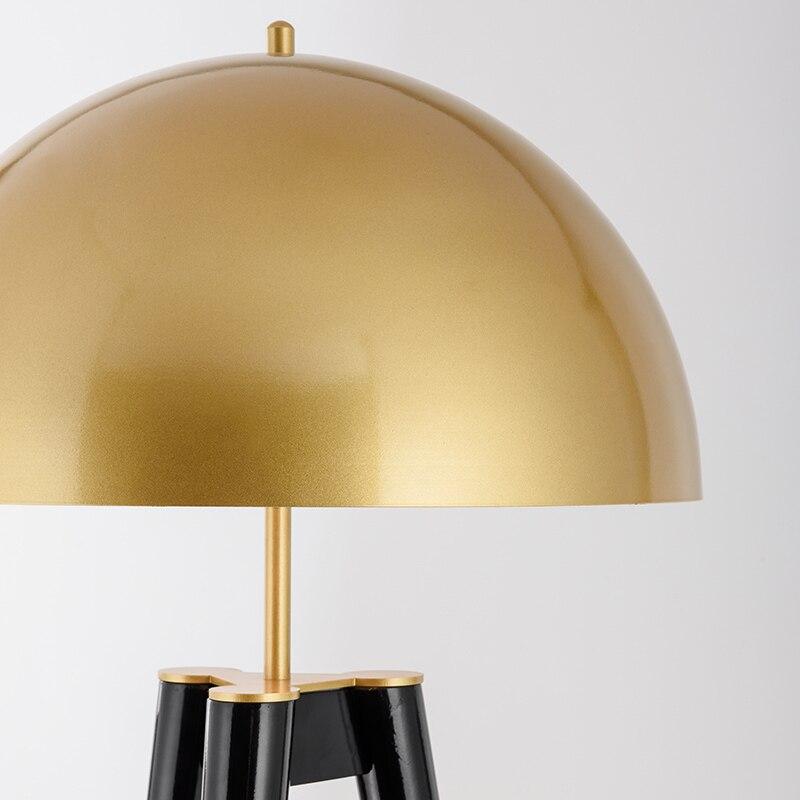 Postmodernen Drei Stativ Gold Tisch Lampe Italienischen Designer Lampen Kreative Büro Led Boden Lampe Schlafzimmer Nacht Wohnkultur Lichter - 6