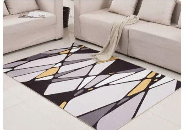 Plaid zerbino di benvenuto porta anteriore tappetini nel corridoio