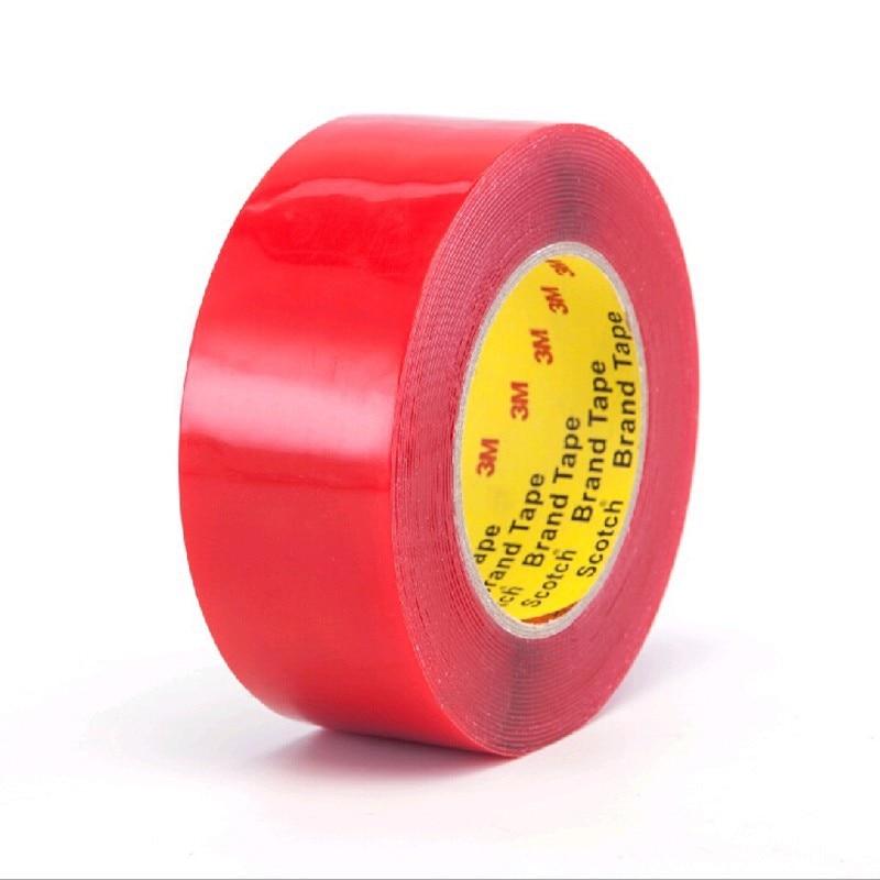 1PCS 3m x 50mm automotive sticky adhesive tape double face transparent adhesive sticker Adhesive Sticker for free delivery gw0035 12 10m automotive adhesive tape