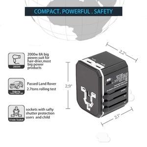 Image 5 - Rdxone evrensel seyahat adaptörü hepsi bir güç adaptörü duvar elektrik fişleri prizler cep telefonu, Tablet, kamera, dizüstü bilgisayar