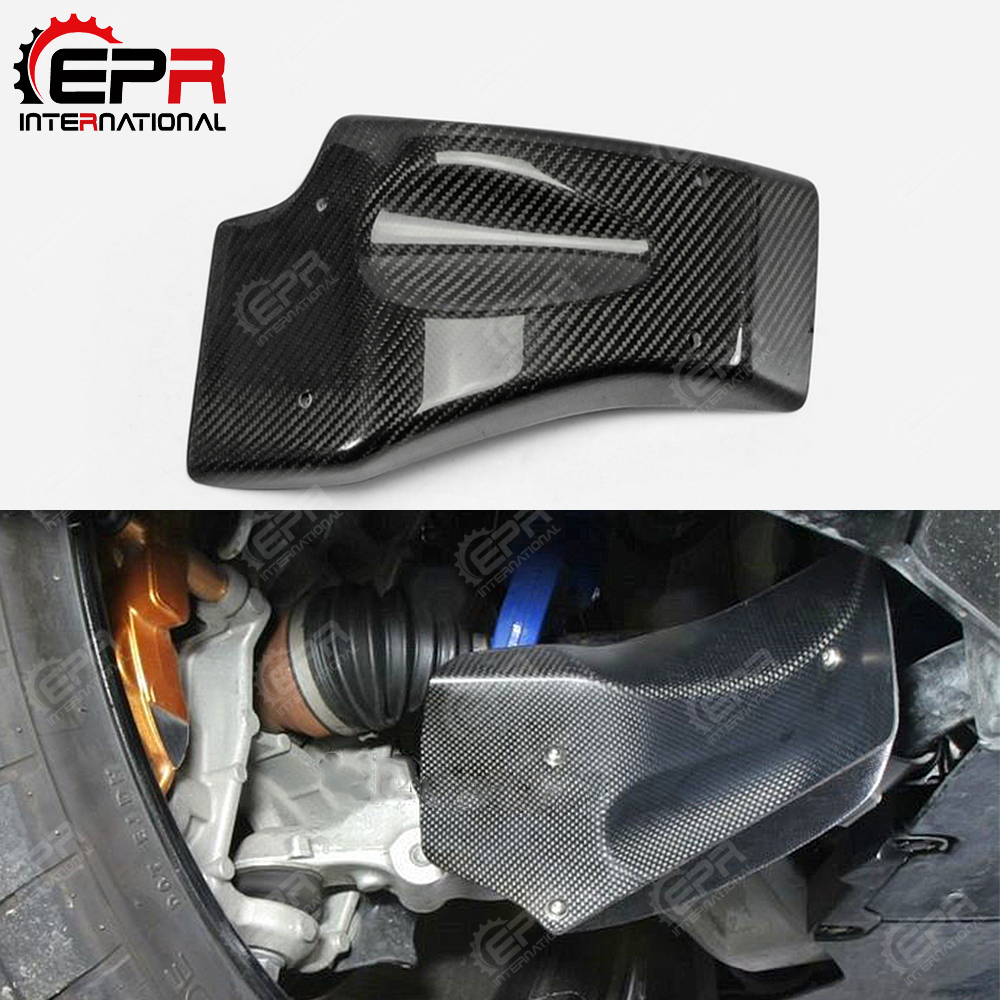 US $228 0 |Car styling For Nissan 2008 2011 R35 GTR Carbon Fiber Front  Brake Cooling Kit Set Glossy Finish GT R Fibre Tuning Cover Kit Trim-in  Body
