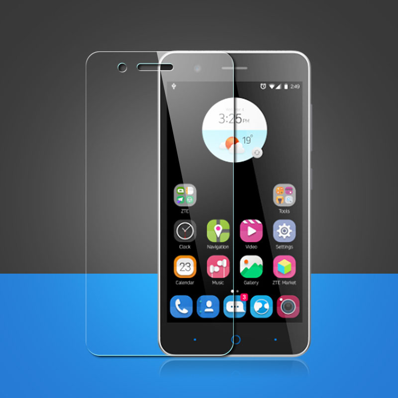0.3mm 9h Anti-shatter Tempered Glass For Zte Blade X3 X5 X7 A452 A510 A1 L5 V580 L2 L3 L5 Plus Hd Toughened Protective Film Preventing Hairs From Graying And Helpful To Retain Complexion