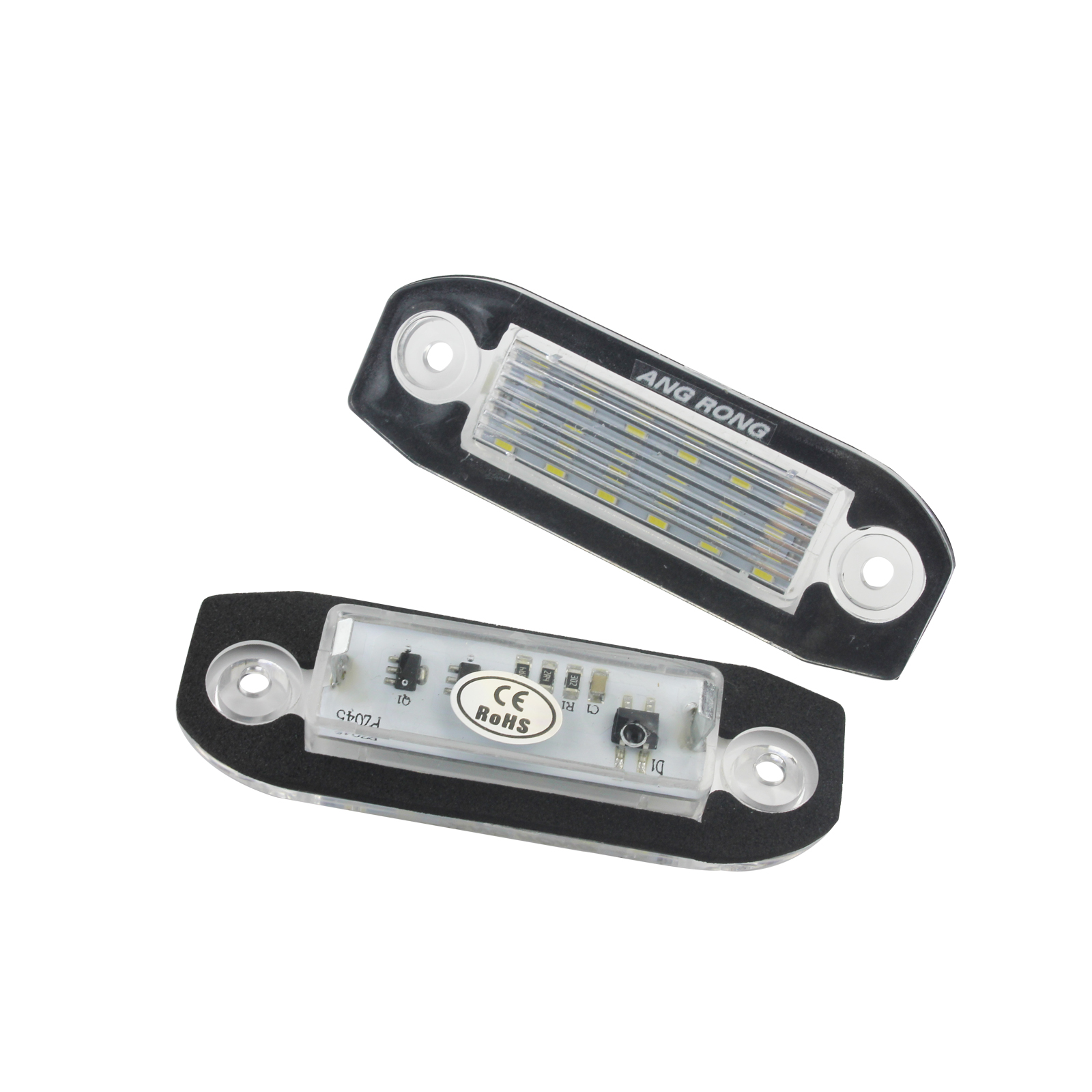 2X Volvo LED License Number Plate Light Lamp Error Free C70 S40 S60 S80 V60 V70