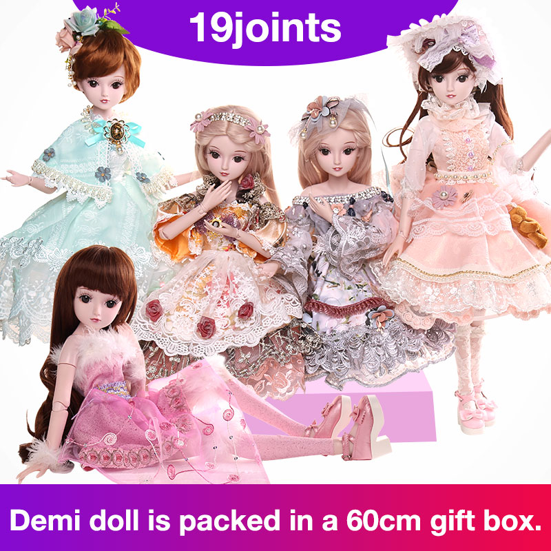 BARBIE Dolls SD 1/3 body New Style Movable Joint Body Fashion High Quality Girls Plastic Classic Toys Best Gift bjd doll diy цена