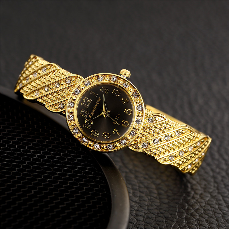 цена на New Fashion Rhinestone Watches Women Luxury Brand Bracelet watch Ladies Quartz Dress Watch Gemstone Wristwatch Dress reloj mujer