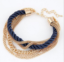 Multilayer Charm Bracelet