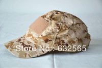 Free Shiping Camouflage Army Cap Tactical Airsoft Military Baseball Cap Hunting Camo Peaked Cap Hat 10pcs