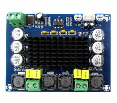 TPA3116D2 двухканальный стерео высокого Мощность цифровой аудио Мощность Плата усилителя 2*120 W