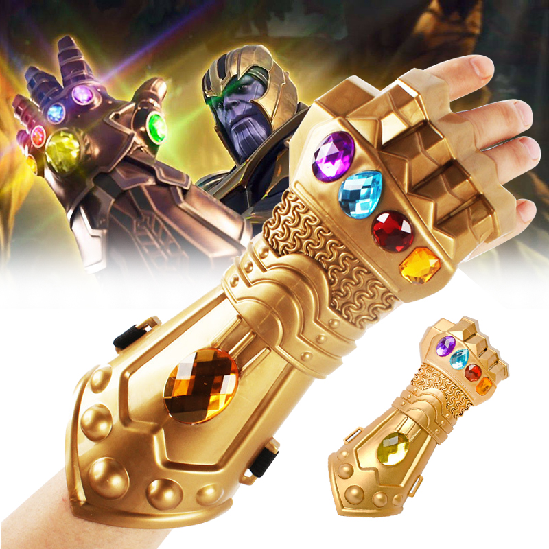 The Avengers New Thanos Infinity Gauntlet Gloves Cosplay Props Infinity War Latex Avengers Infinity War Gloves XMAS Costume Gift