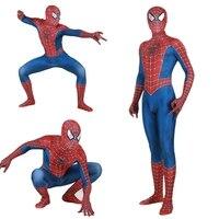 Adult Kids Movie Spider Man 3 Raimi Spiderman Cosplay Costume Zentai Superhero Bodysuit Suit Jumpsuits Gift